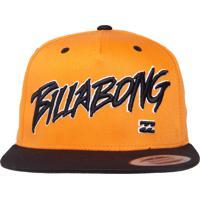 Boné Billabong Snap Punk Class R Laranja 21c6dc85aae