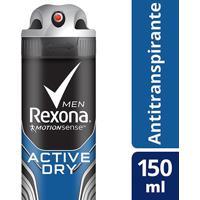Desodorante Rexona Aerosol Antitranspirante Active Masculino 150Ml - Masculino-Incolor