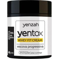 Escova Progressiva Yenzah Yentox Whey Fit Cream 480G - Unissex