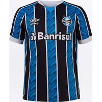 Camisa Grêmio I 20/21 S/N° Torcedor Umbro Masculina - Masculino