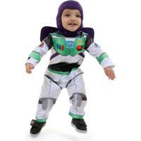 Fantasia Buzz Lightyear Bebê - Disney - Toy Story P