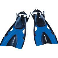 Par De Nadadeiras Delta Fin Azul Polipropileno Speedo