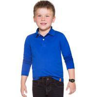 Polo Infantil Menino Azul