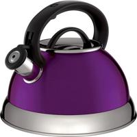 Chaleira Boiler- Inox & Roxa- 2,8L- Euro Homewareuro Homeware