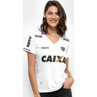Netshoes  Camisa Atlético Mineiro Ii 2018 S N° Torcedor Topper Feminina -  Feminino 4b5ec09dce736
