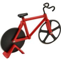 Cortador De Pizza Bicicleta Vermelho