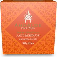 Shampoo Sólido Anti-Resíduos Vegano Aloe Vera E Pracaxi Ahoaloe 100G