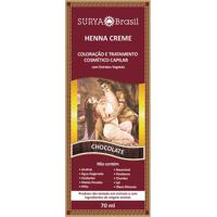 Tintura Creme Henna Surya Chocolate 70Ml
