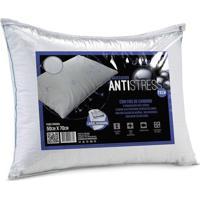 Travesseiro Antistress- Branco- 70X50Cm- Altenbualtenburg