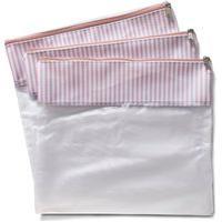 Conjunto Com 3 Saquinhos De Mala Bubble Rosa - Masterbag Baby