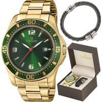 6229d0ffa40 Kit Relógio Champion Masculino Com Pulseira Ca30132E