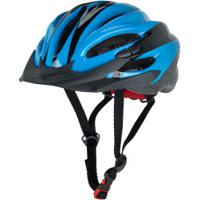 Capacete Para Bike Spin Roller Style - Adulto - Preto/Azul
