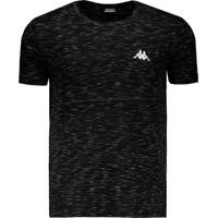 Camiseta Kappa Authentic Jet Preta