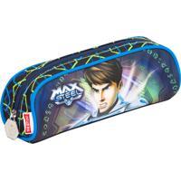 Estojo Max Steel 15Z - 64338 | Cor: Azul