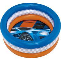 Piscina P Inflável 68L Hot Wheels Radical 8096-0 Fun