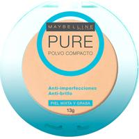Pó Compacto Maybelline Pure Make Up Cor Arena Natural - Feminino