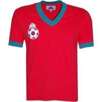 Camisa Liga Retrô Marrocos 1970 Masculina - Masculino