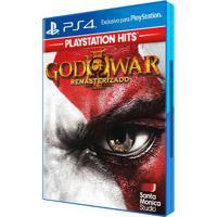 Jogo Ps4 - God Of War Iii - Remasterizado - Playstation Hits - Sony