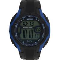 Relógio Speedo 81141G0Evnp1 Preto/Azul