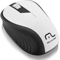 Mouse Multilaser Sem Fio 2.4Ghz Preto E Usb - Mo216 - Unissex