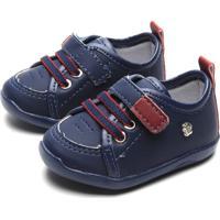 Sapato Pimpolho Menino Liso Azul-Marinho