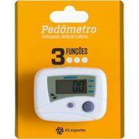 Pedômetro Digital Ax Esportes Com 3 Funções - Fa507 - Unissex