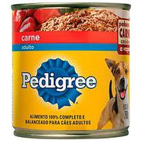 Ração Para Cães Pedigree Adultos Lata Sabor Carne 280G