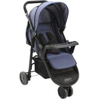 Carrinho De Bebê Multikids Baby Agile 3 Rodas - Unissex-Preto