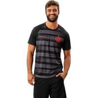 Camisa Flamengo Honda Braziline Masculina - Masculino-Preto