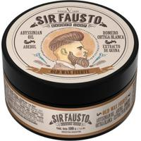 Pomada Forte Para Cabelo Sir Fausto - Old Wax 100G - Masculino
