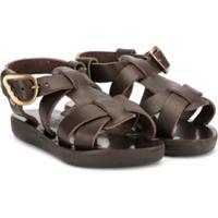 Ancient Greek Sandals Sandália Little Leonida - Marrom