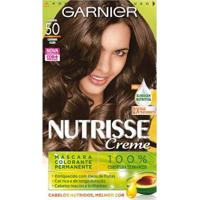 Tintura Garnier Nutrisse 50 Amêndoa Castanho Claro - Unissex-Incolor