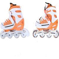 Patins Bel Sports All Style Street Rollers - Unissex-Laranja