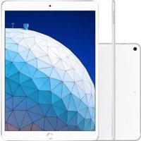 Tablet Apple Ipad Air 3º Geração 10.5'' Wi-Fi + Cellular 256Gb Prata Mv1F2