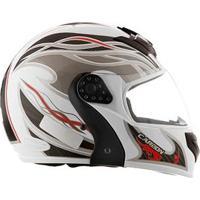 Capacete Mixs Helmets Gladiator Carbon - Branco