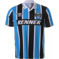Camiseta Umbro Grêmio Tricolor Bi Libertadores 1995