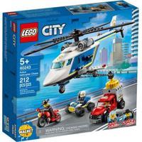 Lego City - Perseguição Policial De Helicóptero - 60243