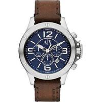 Relógio Armani Exchange Ax1505/0An 47Mm - Unissex-Marrom