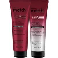 Combo Match Liga Dos Coloridos: Shampoo + Condicionador