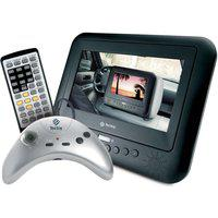 Dvd Player Portátil Com Tela Led 7 Pol, Entrada Usb E Joystick - Tec Toy