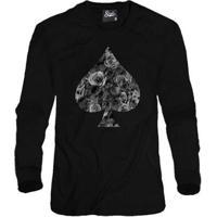 Casaco Moletom Skull Clothing Poker Masculino - Masculino