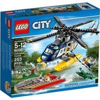 Lego City Police Perseguição Helicoptero - 253 Peças