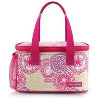 Bolsa Térmica Com Compartimento Lateral Rede Jacki Design My Lolla Pink .