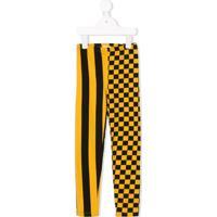 Bandy Button Legging 'Gas' - Amarelo