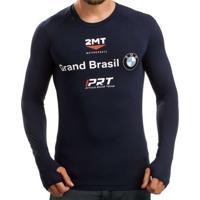 Camiseta Segunda Pele 2Mt - Oficial Da Equipe Bmw - Masculino