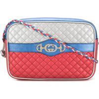 Gucci Matelassé Shoulder Bag - Azul