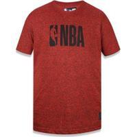 Camiseta Nba New Era Masculina - Masculino-Laranja