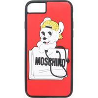 Moschino Capa Para Iphone 7 'Pudge' - Vermelho