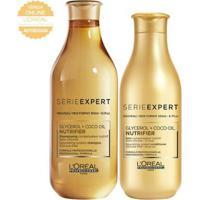 Kit Shampoo + Condicionador L'Oréal Professionnel Nutrifier - Unissex-Incolor