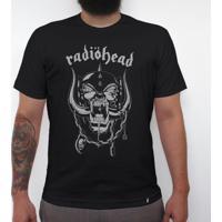 Radiohead - Camiseta Clássica Masculina